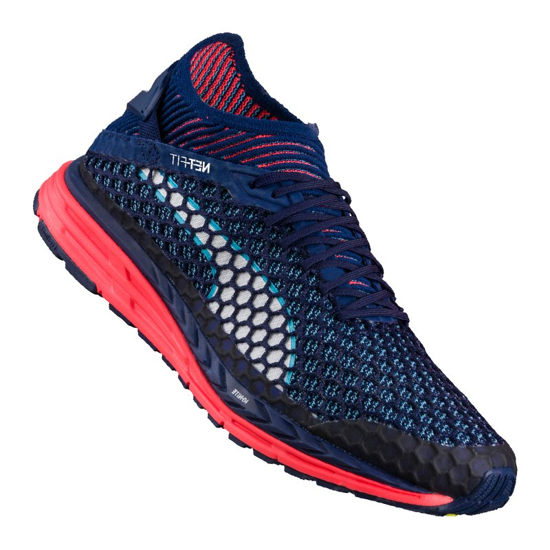 PUMA Speed Ignite Netfit Running Blau F02 - blau
