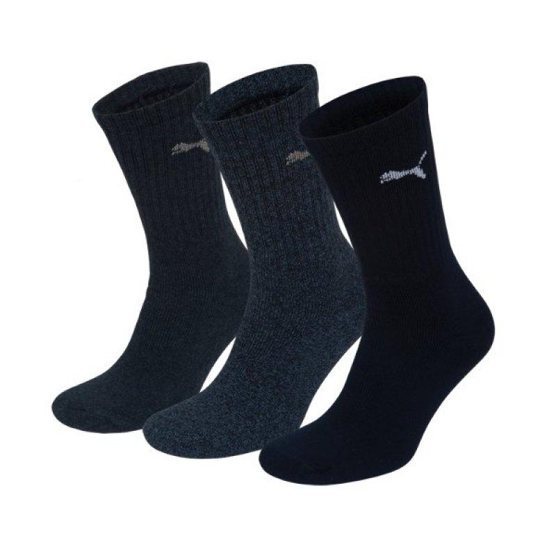 PUMA Sport 3er Pack Socken Blau F321 - blau