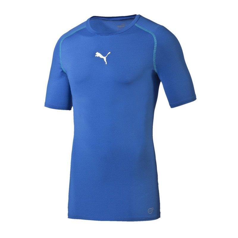 PUMA TB Shortsleeve Shirt Blau F02 - blau