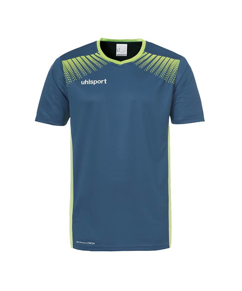Uhlsport Goal Trikot kurzarm Blau Grün F06 - blau