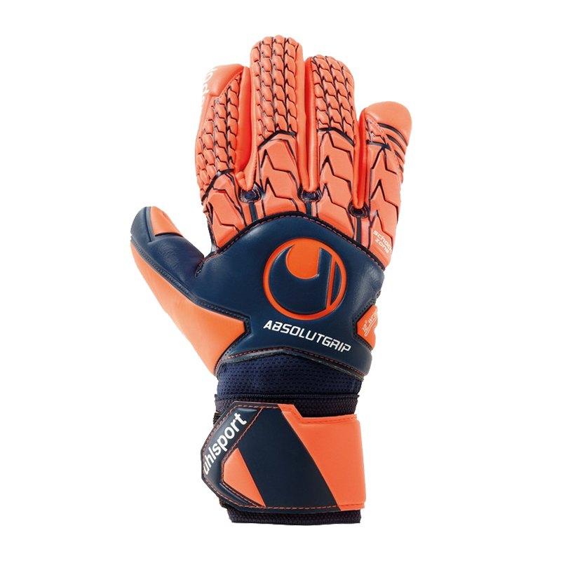 Uhlsport Next Level AG HN TW-Handschuh Orange F01 - blau