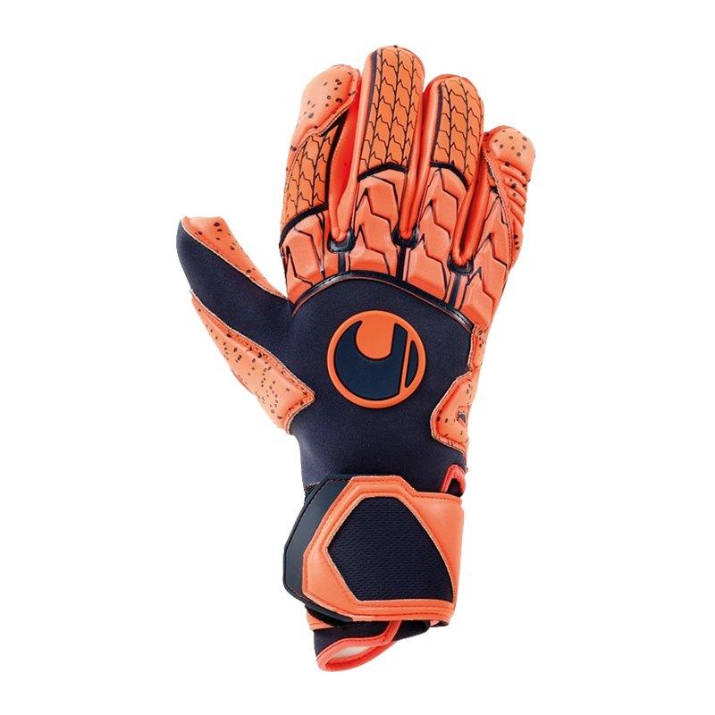 Uhlsport Next Level Supergrip TW-Handschuh Orange F01 - blau