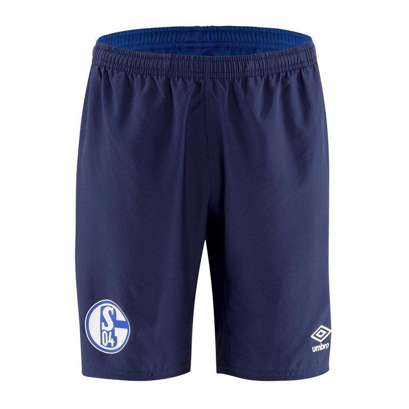 Umbro FC Schalke 04 Woven Short Kids Blau FGT9 - blau