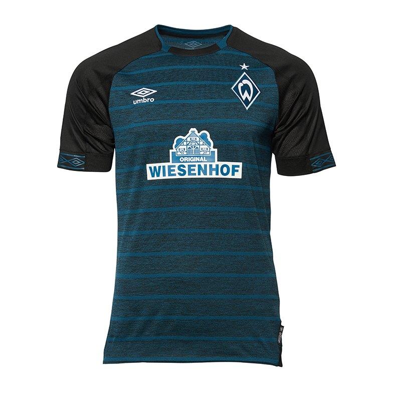 Umbro SV Werder Bremen Trikot Away Kids 2018/2019 Blau - blau