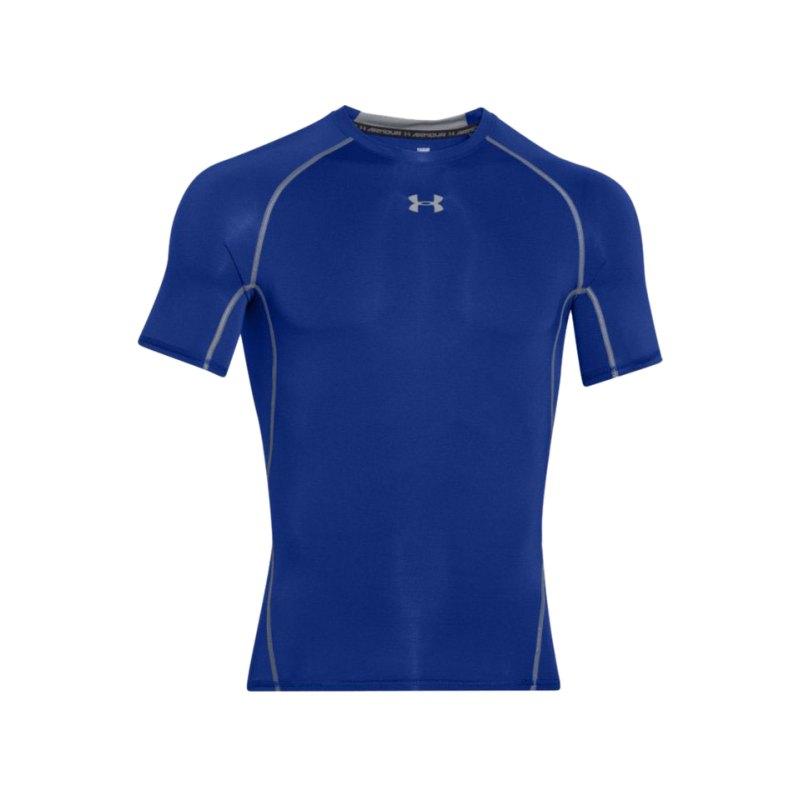 Under Armour Heatgear Compression T-Shirt F400 - blau