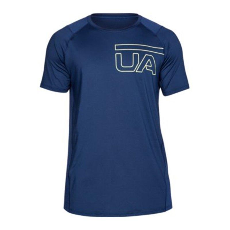Under Armour Raid 2 0 Graphic T Shirt Blau F408