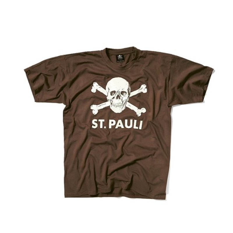 fc st pauli t shirt totenkopf replica fanshop. Black Bedroom Furniture Sets. Home Design Ideas