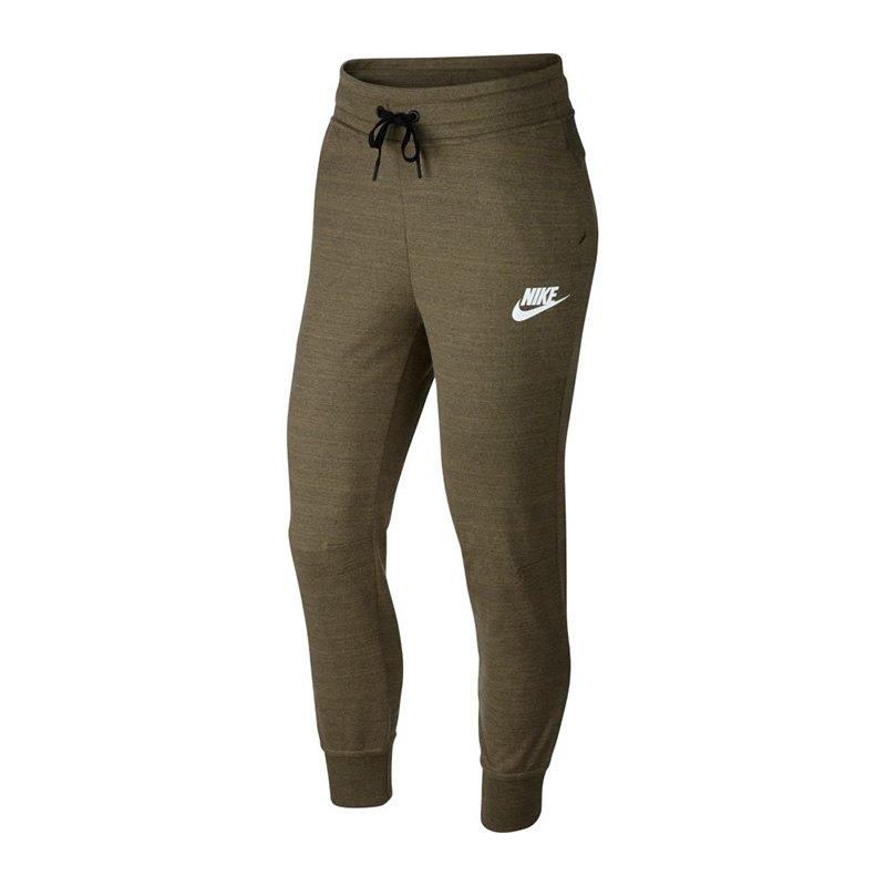 Nike Advance 15 Pant Hose lang Damen Braun F222 - braun