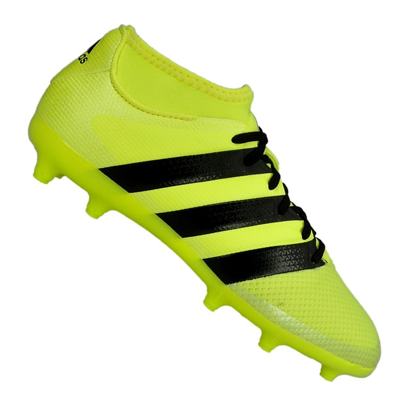 hot sale online 09dcd 77e1f ... coupon for adidas ace 16.3 primemesh fg j kids gelb schwarz gelb 2c58d  422cb