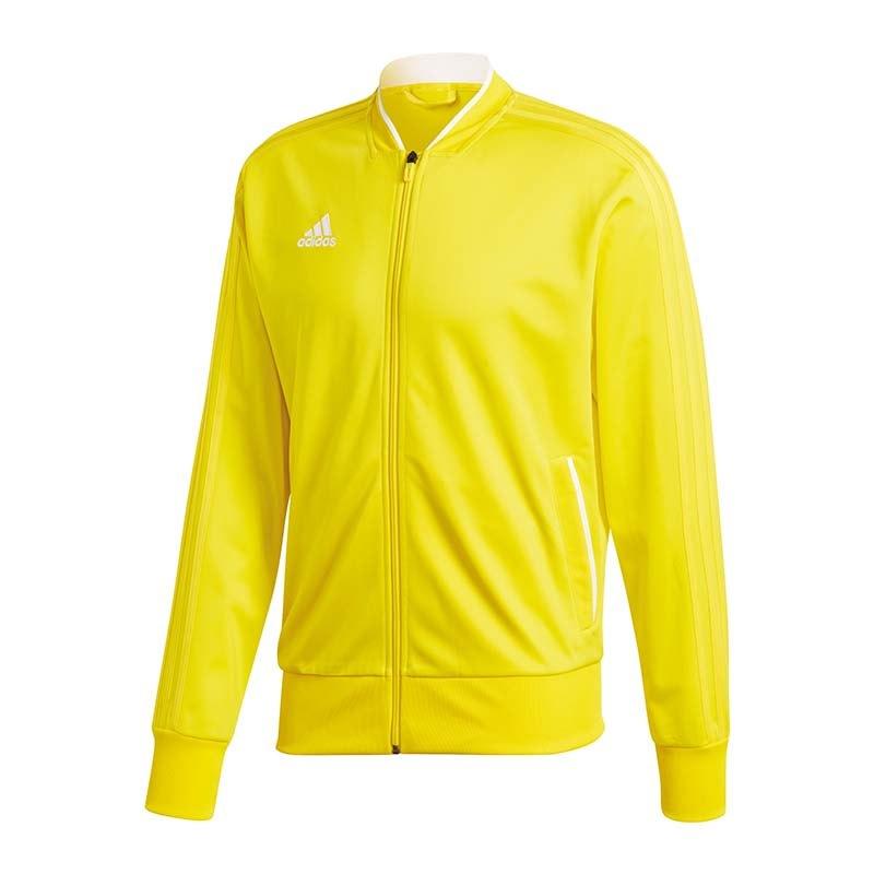 adidas Condivo 18 Polyesterjacke Gelb Weiss - gelb