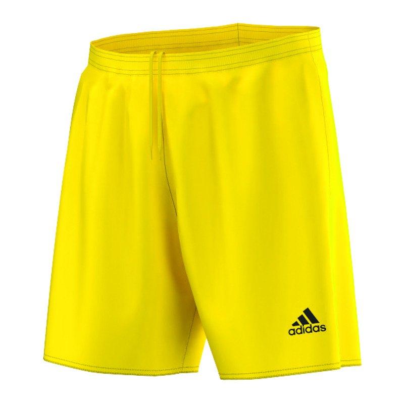 adidas Parma 16 Short ohne Innenslip Gelb - gelb