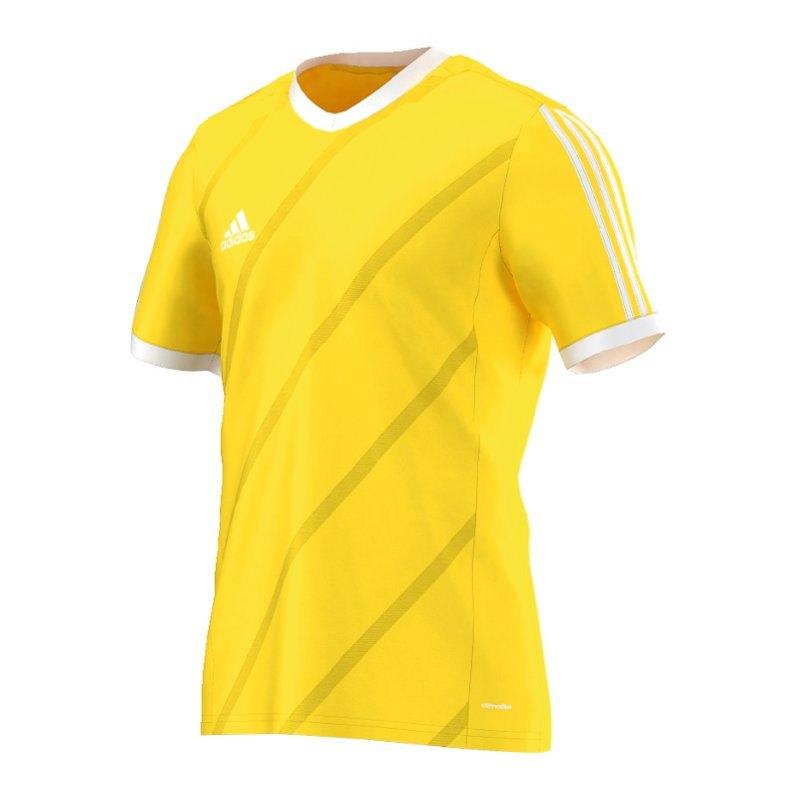 adidas Tabela 14 Trikot kurzarm Gelb Weiss - gelb