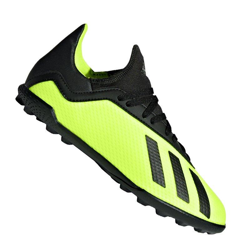 adidas X Tango 18.3 TF J Kids Gelb Schwarz - gelb