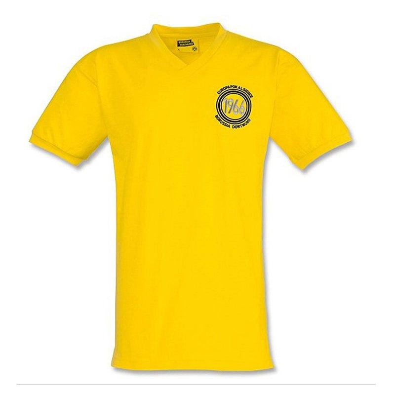 BVB Borussia Dortmund Retrotrikot 1966 Gelb - gelb