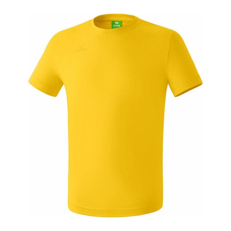 Erima Teamsport T-Shirt Gelb - gelb