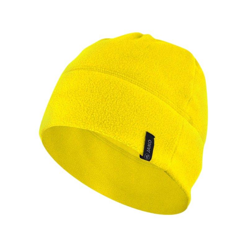 Jako Fleecemütze 2.0 Gelb F03 - gelb