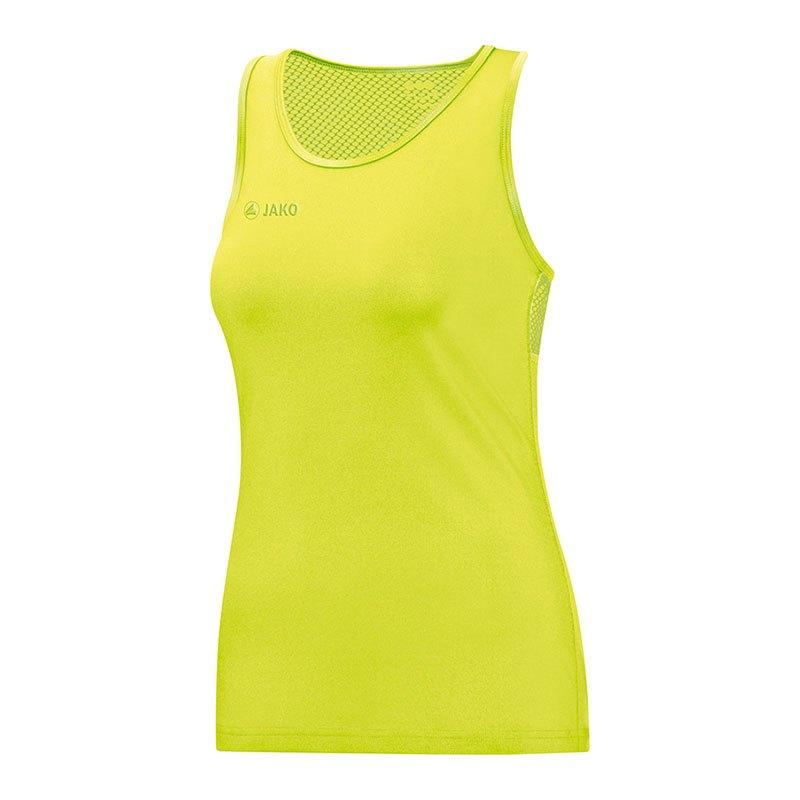 Jako Move Tanktop Damen Gelb F23 - gelb