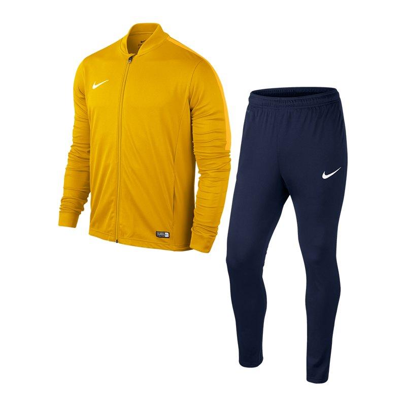 Nike Academy 16 Knit Trainingsanzug 2 Kids F739 - gelb