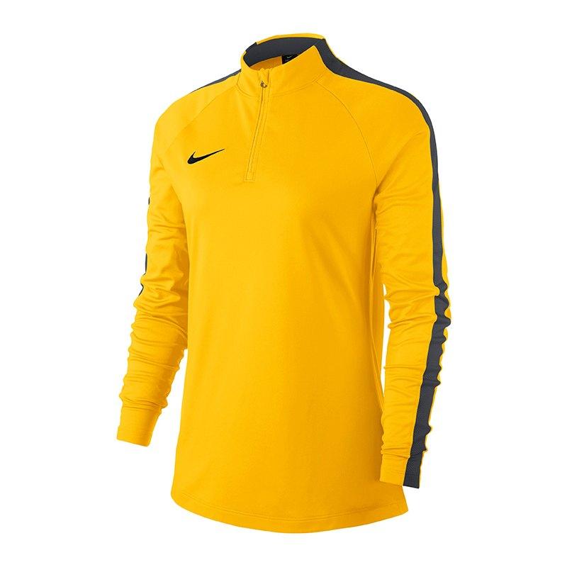 Nike Academy 18 Drill Top Sweatshirt Damen F719 - gelb