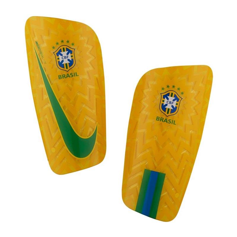Nike Brasilien Schienbeinschoner Gelb F750 - gelb