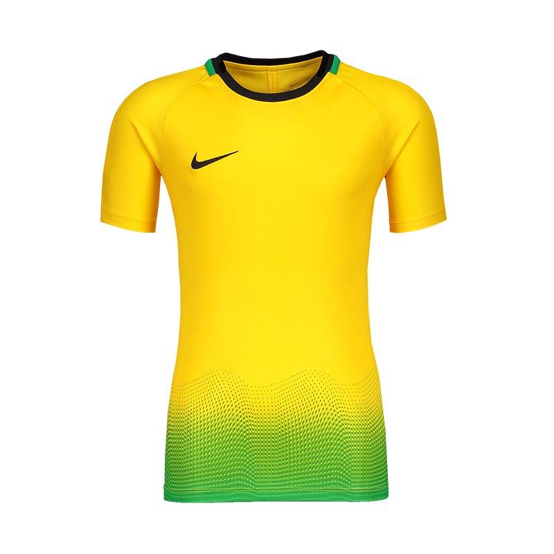 Nike Dry Academy T-Shirt GX Kids Gelb F728 - gelb