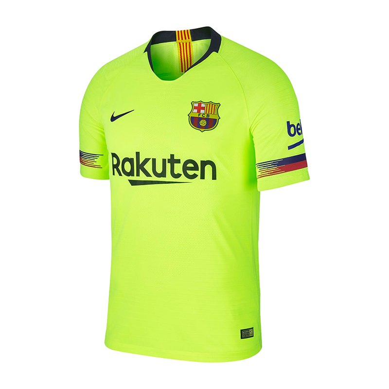Nike FC Barcelona Authentic Trikot Away 2018/2019 F702 - gelb