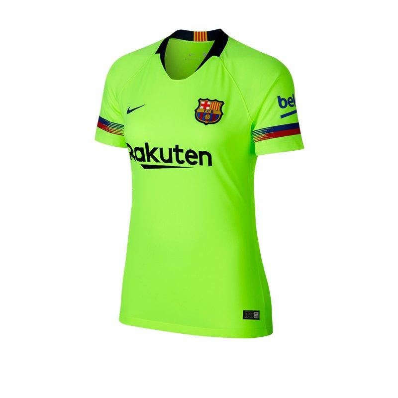 Nike FC Barcelona Trikot Away Damen 2018/2019 F703 - gelb