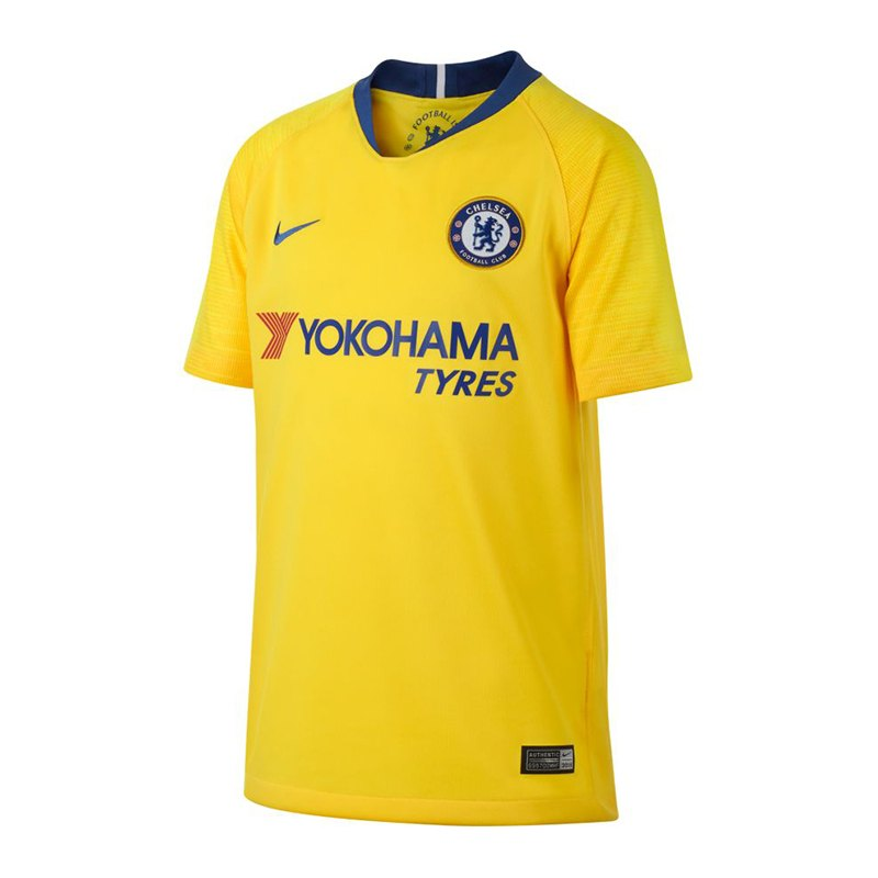 Nike FC Chelsea London Trikot Away 2018/2019 Kids F720 - gelb