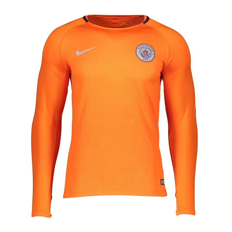 Nike Manchester City Dry Squad T-Shirt Gelb F823 - gelb