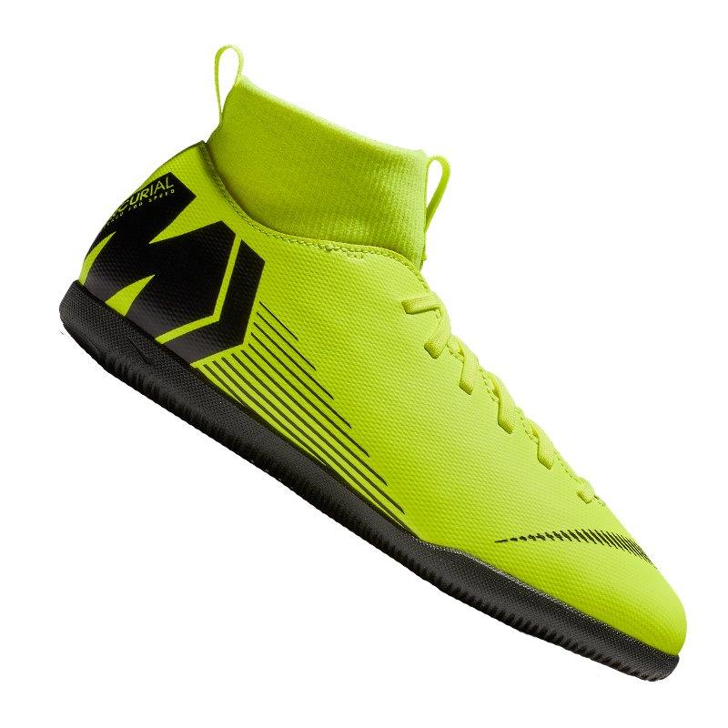 Nike Mercurial SuperflyX VI Club IC Kids F701 - gelb
