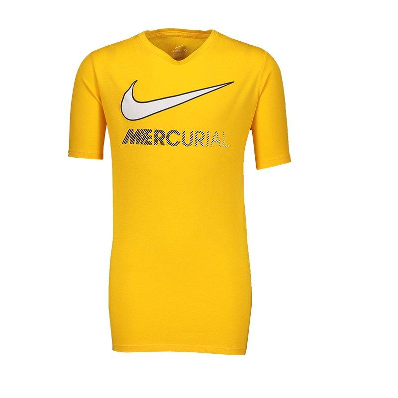 Nike Neymar Dry Boot T-Shirt Kids Gelb F728 - gelb