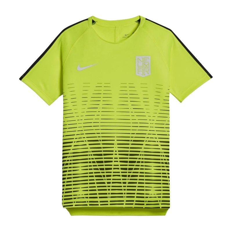 Nike Neymar Dry Squad T-Shirt Kids Gelb F702 - gelb