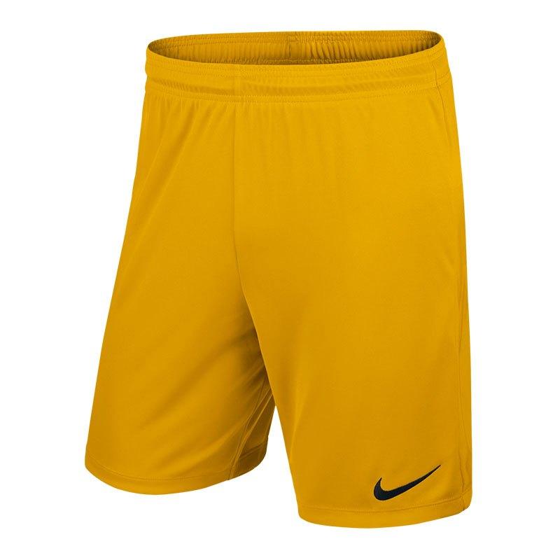 Nike Park II Short ohne Innenslip Gelb F739 - gelb
