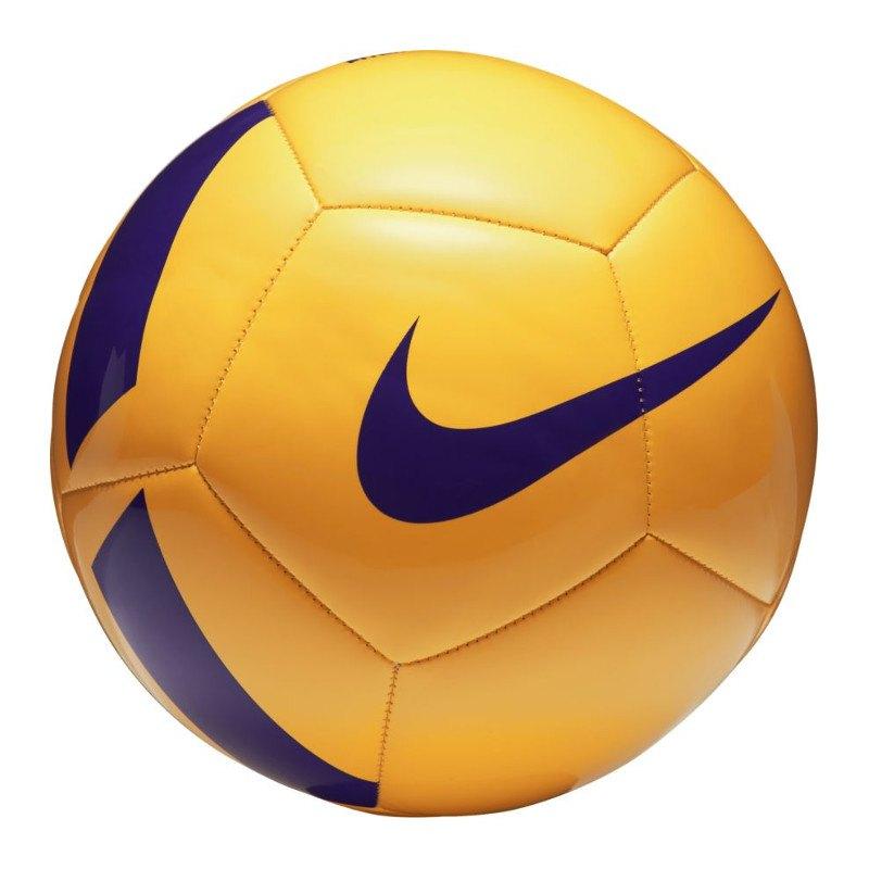 Nike Pitch Team Football Fussball Gelb F701 - gelb