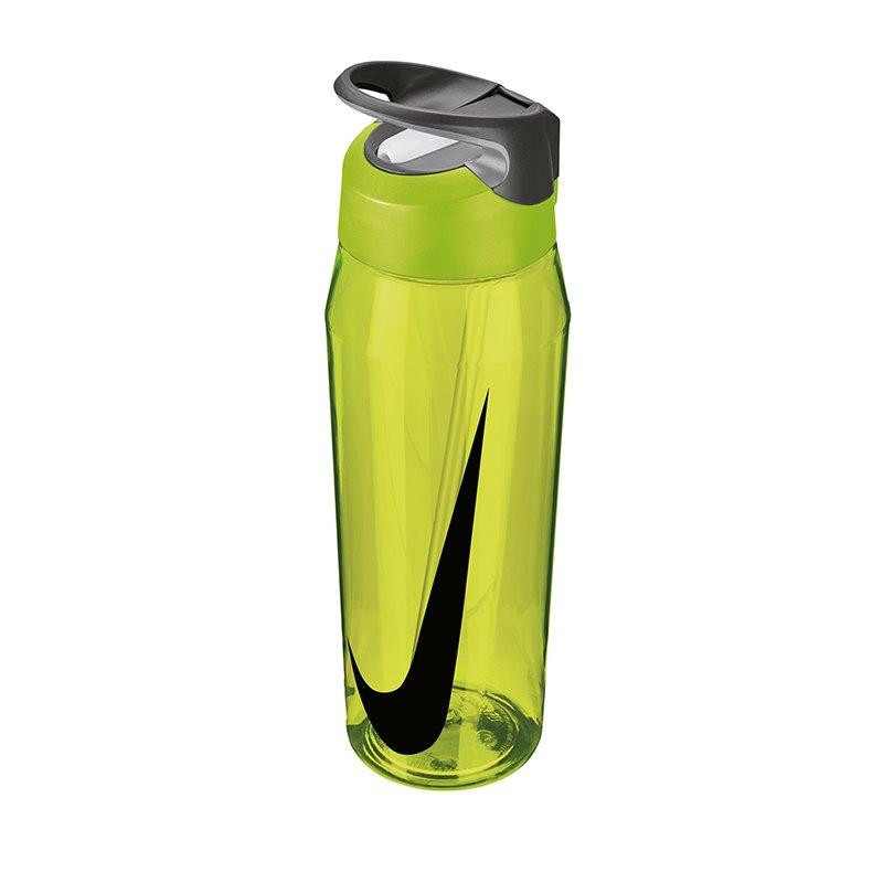 Nike TR Hypercharge Straw Bottle 946ml Gelb F739 - Gelb