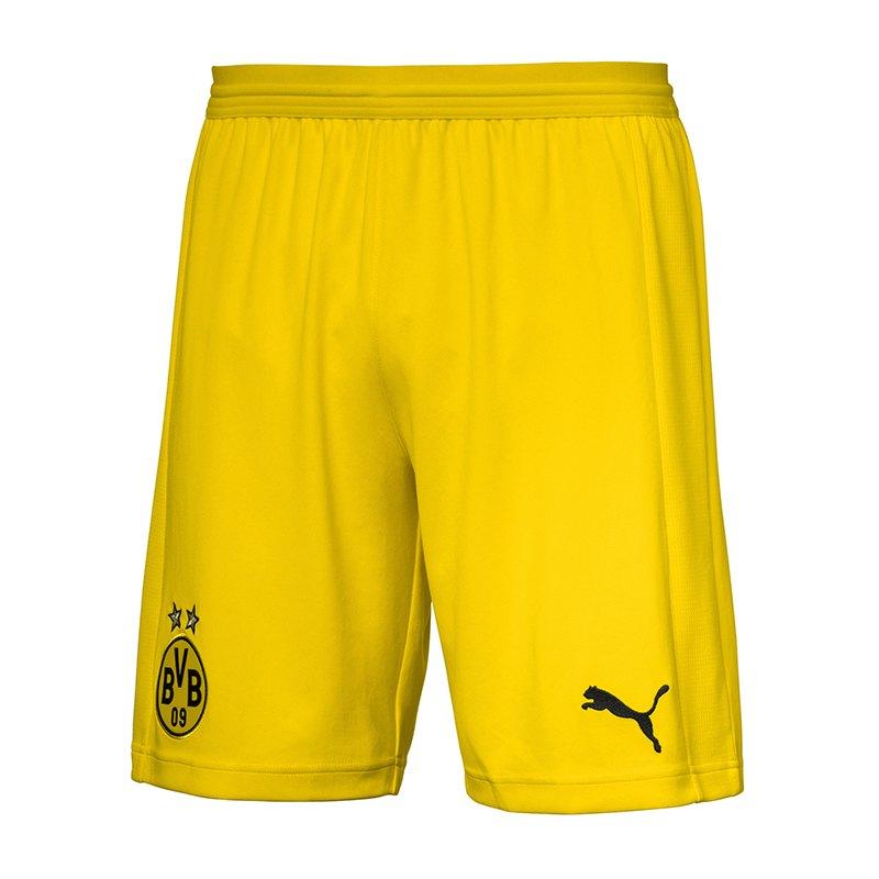 PUMA BVB Dortmund Short Away 2018/2019 Gelb F01 - gelb