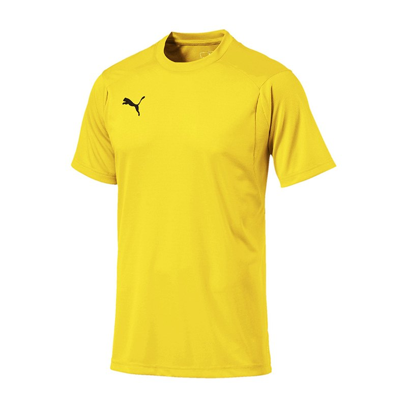 PUMA LIGA Casuals Tee T-Shirt Gelb F07 - gelb