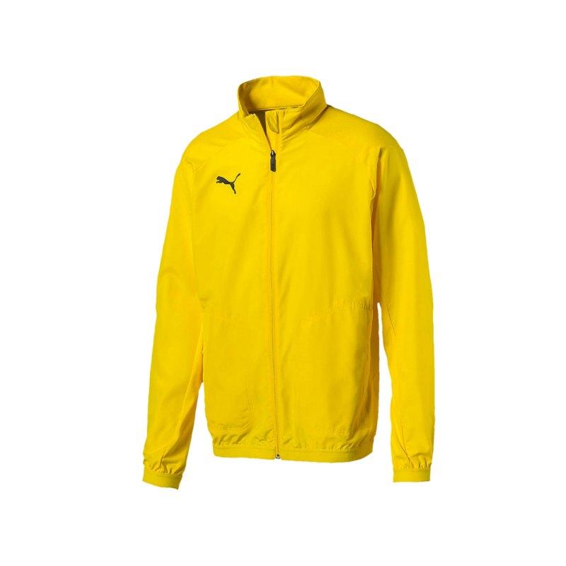 PUMA LIGA Sideline Jacket Jacke Gelb F07 - gelb