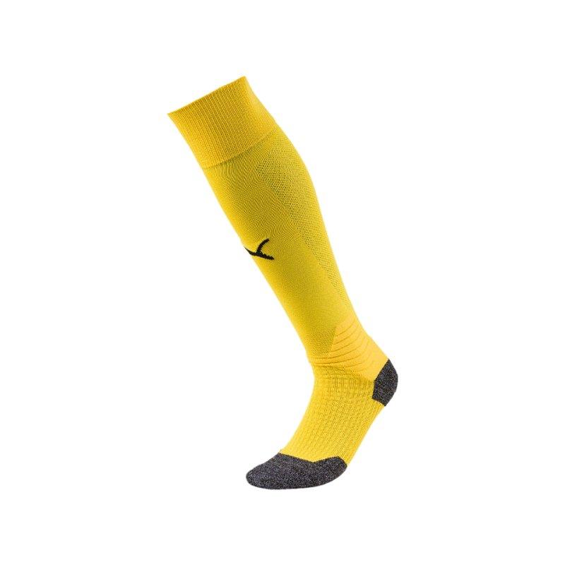 PUMA LIGA Socks Stutzenstrumpf Gelb Schwarz F07 - gelb