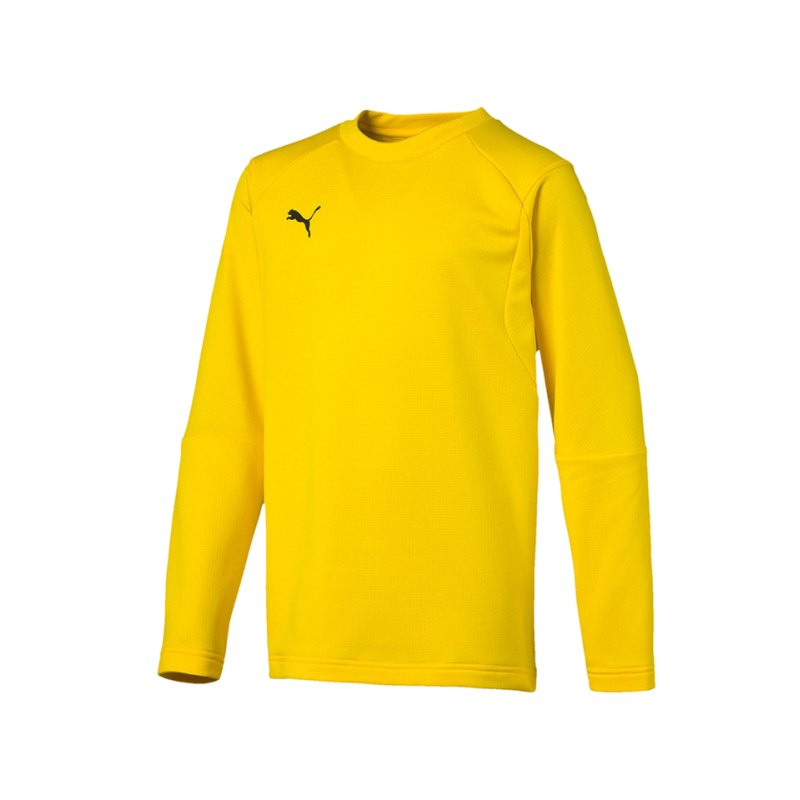 PUMA LIGA Training Sweatshirt Kids Gelb F07 - gelb