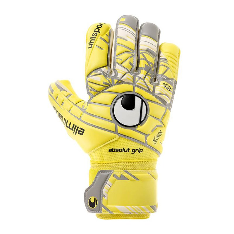 Uhlsport Eliminator Unlimited AG HN Handschuh F01 - gelb