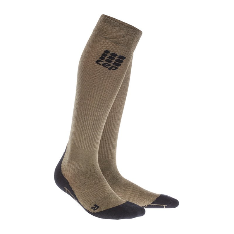 CEP Metalized Socks Socken Running Damen Gold - gold