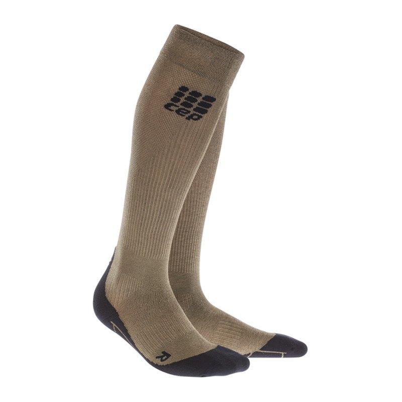 CEP Metalized Socks Socken Running Gold Schwarz - gold