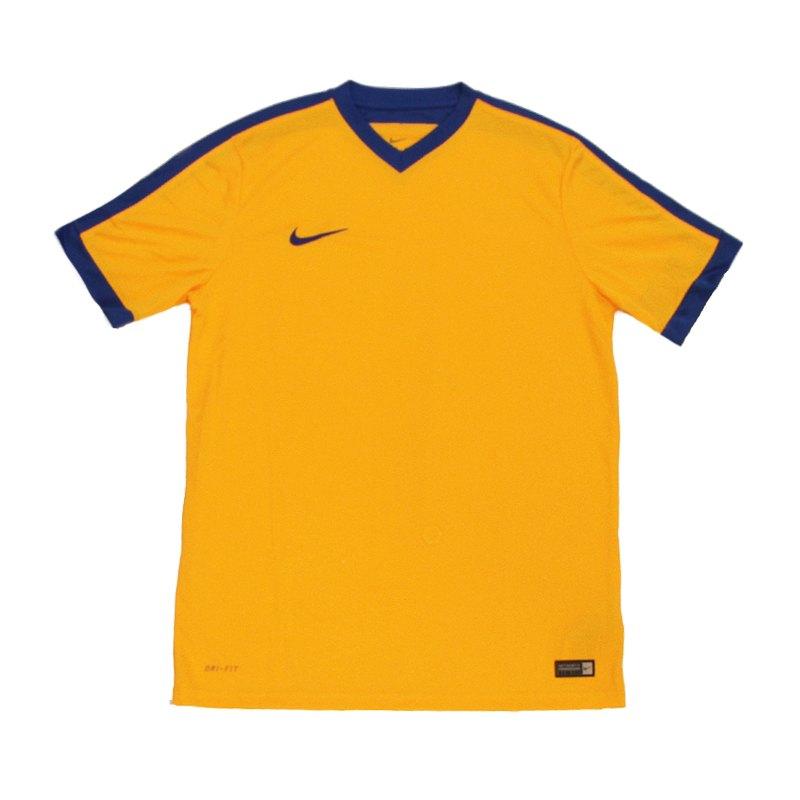 Nike Striker IV Trikot kurzarm Gold Blau F740 - gold