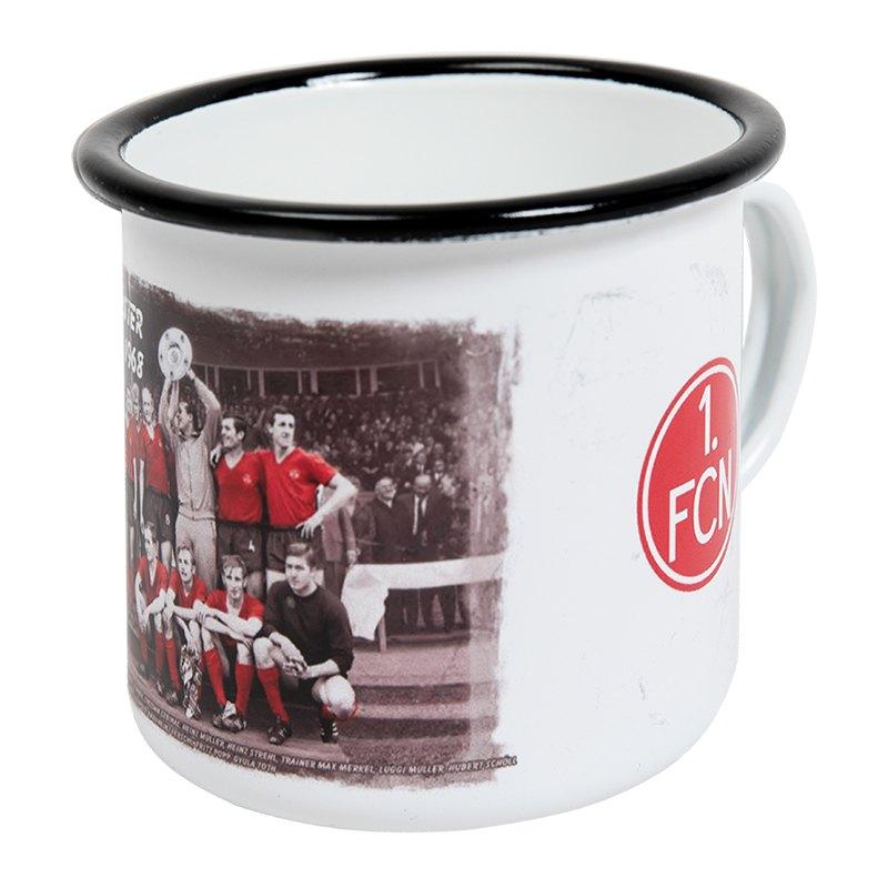 1. FC Nürnberg Deutscher Meister 1968 Tasse Grau - grau