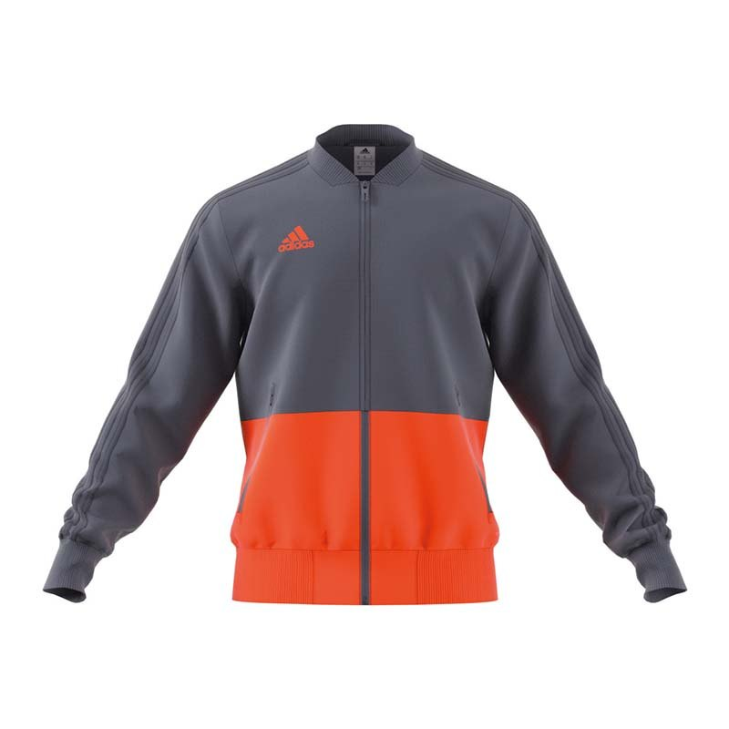 adidas Condivo 18 Präsentationsjacke Grau Orange - grau