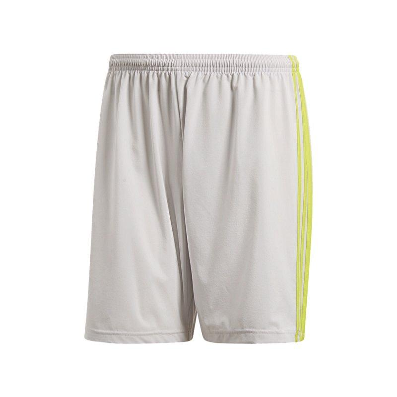 adidas Condivo 18 Short Hose kurz Grau Gelb - grau