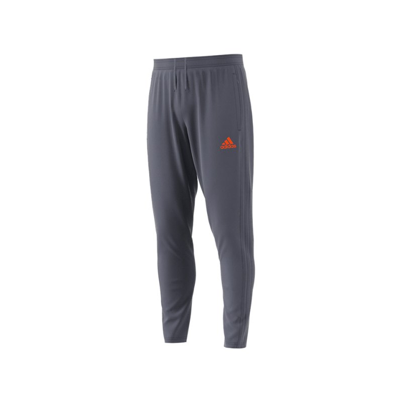 adidas Condivo 18 Training Pant Grau Orange - grau