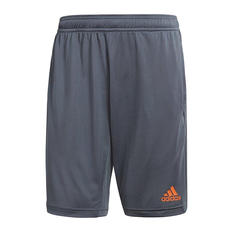 adidas Condivo 18 Training Short Grau Orange - grau