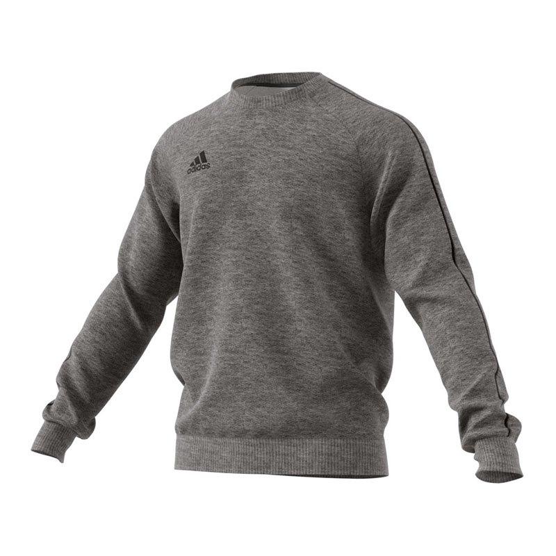 adidas Core 18 Sweat Top Grau Schwarz - grau